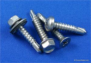 Stainless Steel Self Drilling Tek Screws