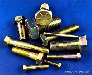 Grade 8 Bolts, Grade 8 Hex Cap Screws, Grade 8 Hex Bolts at Crouch Sales