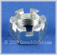 Slotted Nuts Zinc Plated