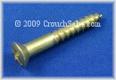 Brass Phillips Oval Head Wood Screws