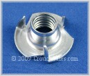 T Nuts Zinc Plated