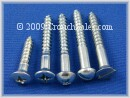 Wood Screws Zinc Plated
