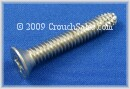 Stainless Phillips Flat Head Thread Cutting Screws